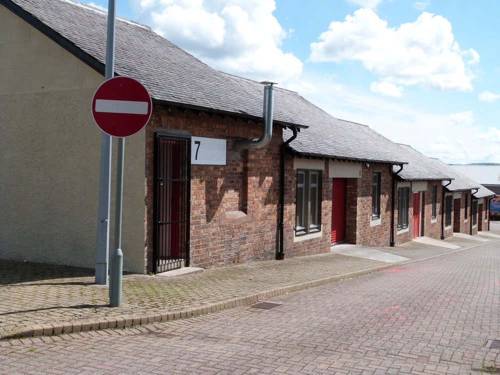 To Let – Workshop Units and Development Land, Highhouse Industrial Estate – Auchinleck