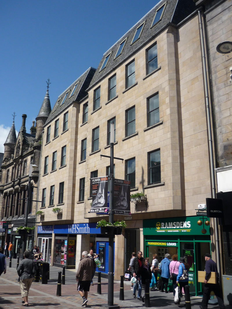 To Let – 1108sqft Office Suite, Metropolitan House, Inverness UNDER OFFER