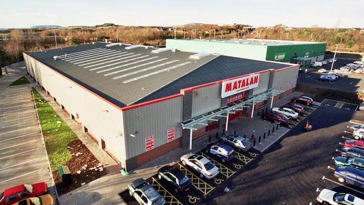 Saltire Retail Park, Glenrothes