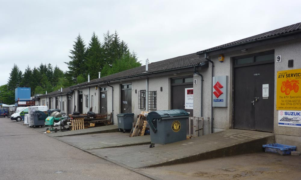 To Let – Workshop Units, Kilmory Industrial Estate