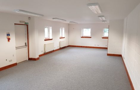 To Let – 580sqft Ground Floor Office with excellent Parking – Oban