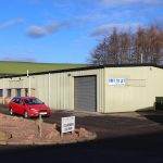 To Let – 3,875sqft Roadside Workshop, Prestonhall Trading Estate, Cupar